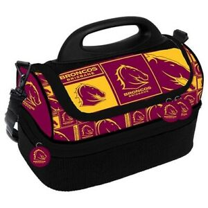Team Official NRL Dome Cooler Bag Insulated Lunch Box Bag