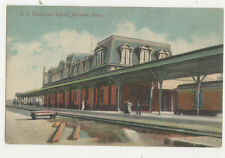 Meriden Railroad Passenger Depot Connecticut Usa Vintage Postcard Us030