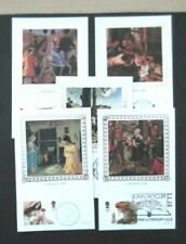 GB-1984-Benham Christmas Postcards-Full set of 5-Unused