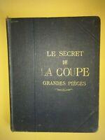 Le secret de la coupe grandes pièces par Gaudet & Métairie   Napolitano   1926