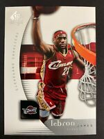 2005-06 Upper Deck SP Authentic #14 LeBron James CAVALIERS UD