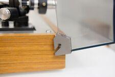 Riparazione angoli coperchio THORENS TD160 giradischi 2x ricambio ferro