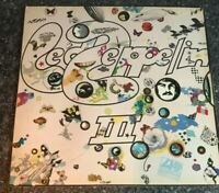 LP VINYL LED ZEPPELIN - LED ZEPPELIN III GATEFOLD UK IST PRESS PLUM LABEL EX/VG+