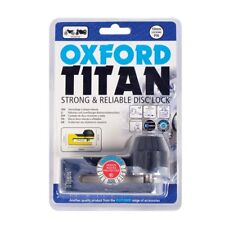 Oxford Titan Motorcycle Strong 10mm Pin Disc Lock OF50 Chrome