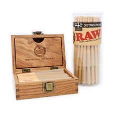 RAW Classic Lean Cones 50 Pack with New Raw Box