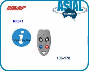 Ness alarm RK3+1 Radio Key 106-178 for ness R8 R16 100-067 100-664
