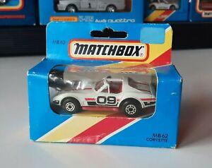 "Matchbox MB 62 Corvette "" OVP !"