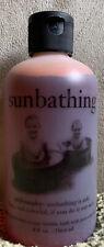 Philosophy Sunbathing highly Pigmented Bubble Bath Super Rare 8 Oz Over 95% Full