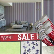 SALE ! Esprit Vlies Tapete, versch. Muster Abverkaufspreis nur € 10,-- / Rolle