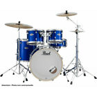 Batterie Pearl Export Rock 22'' High Voltage Blue avec cymbales