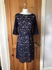 Oasis Dress - Navy Lace Lined - Size 12 - BNWT