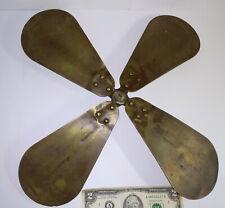 Vintage brass blade propeller for Westinghouse GE ? electric fan ventilator part