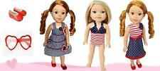 14 Inch Doll Clothes Patriotic Value Pack for Wellie Wisher Dolls