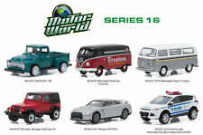 GREENLIGHT 1:64 MOTOR WORLD - SERIES 16 ASSORTMENT 6 Diecast Car Set 96160