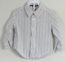 babyGAP Boys Size 18-24 Months Multi-Color Striped Long Sleeve Shirt