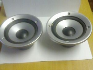 """2 X JVC 5"""" SPEAKERS WITH COVERS, JVC 300-120029-00"""