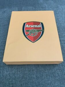 Arsenal FC Football Gift Wallet Brown with Box