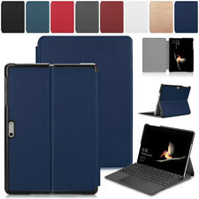 Case For Microsoft Surface Go2 Flip Leather Pen Holder Anti-scratch Stand Cover