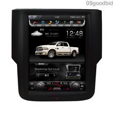 """10.4"""" Tesla Style GPS Navigation Car Radios HD for 2012 Dodge Ram C/V Base"""