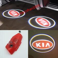 2x LED Logo step Door courtesy Projector Lights for KIA Optima K5 09-2014 Cerato