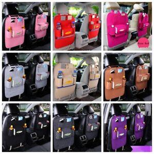 Car Seat Back Bag Storage Multi Pocket Organizer Bag Protector For Kids