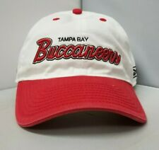Tampa Bay Buccaneers NFL Reebok Adult Unisex White/Red Cap/Hat Curved Brim OSFM