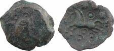 Soissons, Suessions, bronze au cheval et annelets, 60-50 av J-C - 58