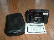 Vivitar PS:10 plastic focus free simple camera with flash. Collector item