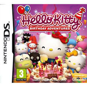 Hello Kitty: Birthday Adventures (Nintendo DS, 2010) - European Version