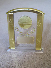 """Volleyball (or any SPORT) 7"""" Acrylic Award Trophy FREE custom engraving"""