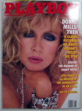 Playboy Magazine November 1989 Donna Mills Cover Sex In Cinema Jimmy Hoffa