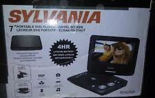 """Sylvania SDVD7029 7"""" Portable DVD Player - Swivel Screen"""