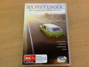Six Feet Under Season 5 The Fifth & Final Series Five Rachel Griffiths DVD 2005