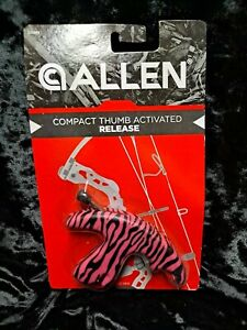 BRAND NEW - Allen archery thumb release pink camo - GREAT CONDITION