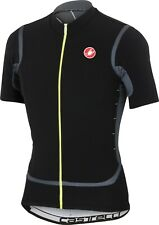 Castelli Raffica Men's Cycling Jersey Black Size L Free Shipping and Returns