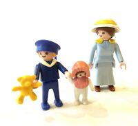 Playmobil 5406 Victorian Mother and Children Complete