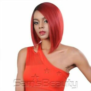 Trendy Natural Hairstyle 130% Density Red Wig Synthetic Hair Cosplay Wigs