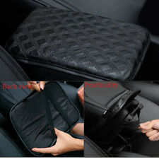 Universal Auto SUV Pickup Armrest Pad Cover Center Console PU Leather Cushion