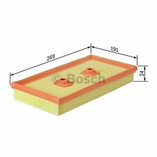 BOSCH Air Filter F026400342 - Single