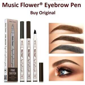 Music Flower Eyebrow Tattoo Pen Microblading Liquid Eye Brow Make Up Waterproof