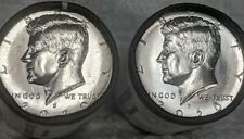 2020 P&D KENNEDY HALF DOLLAR SET CLAD TWO COINS SET UNCIRCULATED