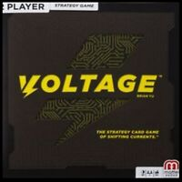 New Mattel Games Voltage by Brian Yu 2 Player Strategy Game Brand New