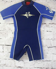 KIDS ULU by SWIMLINE SHORTIE WETSUIT SURF SWIM WET SUIT SIZE L (64)
