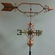 Beautiful large Arrow Copper Weathervane,sold as shown