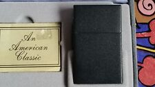 MEGA RARE ZIPPO l'original 1932 REPLICA Black Cracle Test Sample 1988 RAR!