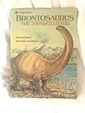 """Brontosaurus: Thunder Lizard By Beverly Halstead - Hardcover """"A"""" Printing"""