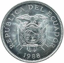 COIN / ECUADOR / 5 SUCRES 1988   UNC    #WT18184