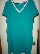 Calvin Klein Plus Size 3X Green Casual Dress NWT!!!