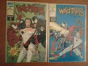 WILD THING Virtual Destruction Entire MarvelUniverse (1st and 2nd Issue-1962)