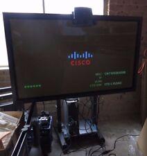 "Cisco 65"" CTS-DISP-65 GEN3 HD 1080p HDMI Plasma Television + Stand w/ Defects"